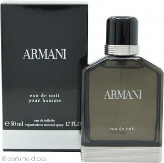 Giorgio Armani Eau de Nuit Pour Homme Eau de Toilette 50ml Vaporizador