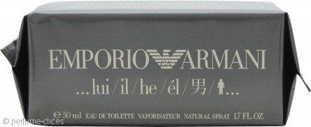 Giorgio Armani Emporio He Eau de Toilette 50ml Vaporizador