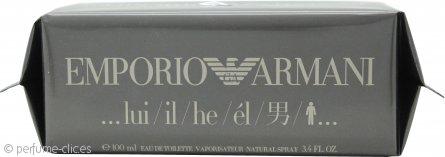 Giorgio Armani Emporio He Eau de Toilette 100ml Vaporizador