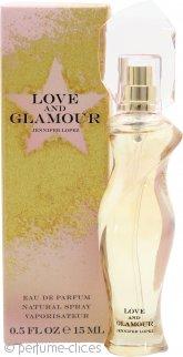Jennifer Lopez Love and Glamour Eau de Parfum 15ml Vaporizador