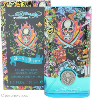 Ed Hardy Hearts & Daggers Eau de Toilette 50ml Vaporizador
