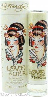 Ed Hardy Love & Luck Eau de Parfum 50ml Vaporizador