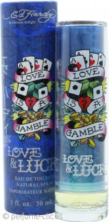Ed Hardy Love & Luck Eau de Toilette 30ml Vaporizador