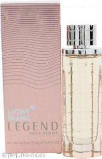 Mont Blanc Legend Pour Femme Eau de Parfum 75ml Vaporizador
