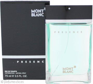 Mont Blanc Presence Eau de Toilette 75ml Vaporizador
