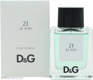 Dolce & Gabbana D&G 21 Le Fou Eau de Toilette 50ml Vaporizador
