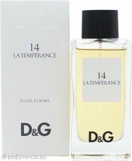 Dolce & Gabbana D&G 14 La Temperance Eau de Toilette 100ml Vaporizador