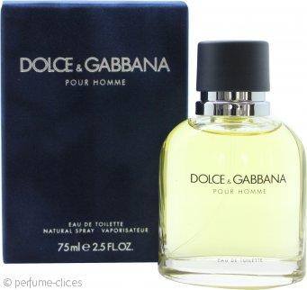 Dolce & Gabbana Pour Homme Eau De Toilette 75ml Vaporizador