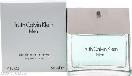 Calvin Klein Truth Eau De Toilette 50ml Vaporizador