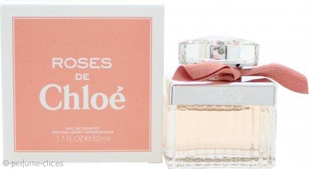 Chloé Roses De Chloe Eau de Toilette 50ml Vaporizador