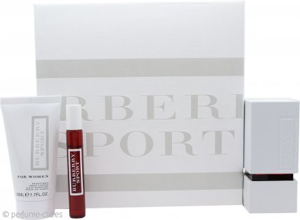 Burberry Sport Set de Regalo 50ml EDT + 50ml Loción Corporal + 7.5ml Mini