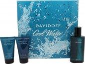 Davidoff Cool Water Set de Regalo 75ml EDT + 50ml Gel de Ducha + 50ml Bálsamo Aftershave