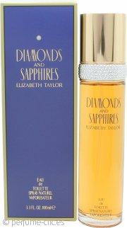Elizabeth Taylor Diamonds & Sapphires Eau de Toilette 100ml Vaporizador