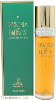Elizabeth Taylor Diamonds & Emeralds Eau de Toilette 100ml Vaporizador