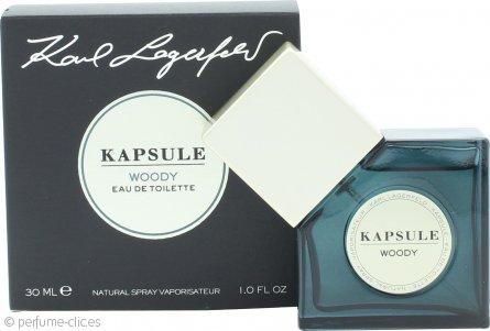 Karl Lagerfeld Kapsule Woody Eau de Toilette 30ml Vaporizador