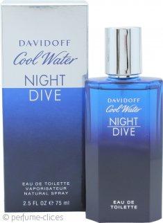Davidoff Cool Water Night Dive Eau de Toilette 75ml Vaporizador