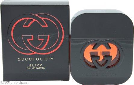 Gucci Guilty Black Pour Femme Eau de Toilette 50ml Vaporizador