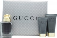 Gucci Made to Measure Set de Regalo 50ml EDT + 50ml Bálsamo Aftershave + 50ml Gel de Ducha
