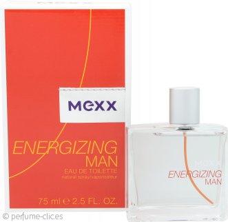 Mexx Energizing Man Eau de Toilette 75ml Vaporizador