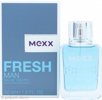 Mexx Fresh Man Eau De Toilette 50ml Vaporizador