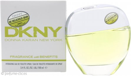 DKNY Be Delicious Skin Hydrating Eau de Toilette 100ml Vaporizador