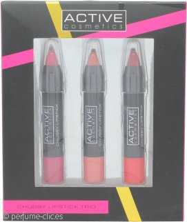 Active Cosmetics Set de Regalo 3 x Jumbo Lip Pencils