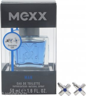 Mexx Man Set de Regalo 50ml EDT Vaporizador + Gemelos
