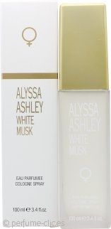 Alyssa Ashley White Musk Eau de Cologne 100ml Vaporizador