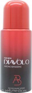 Antonio Banderas Diavolo For Men Desodorante 150ml Vaporizador