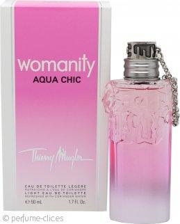 Thierry Mugler Womanity Aqua Chic Eau De Toilette 50ml Vaporizador