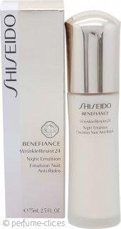 Shiseido Benefiance Resistencia Arrugas 24 Emulsión Nocturna 75ml