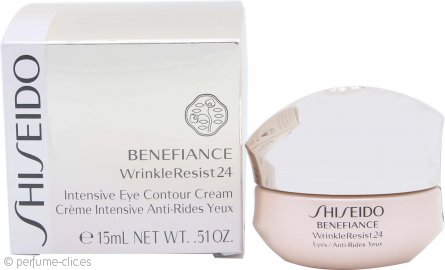 Shiseido Benefiance Crema Contorno de Ojos Resistencia Arrugas 24 Intensa 15ml