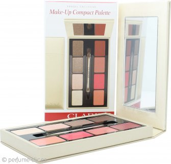 Clarins Paleta Compacta de Maquillaje 4 x Sombras de Ojos + 4 x Pintalabios + 1 Aplicador