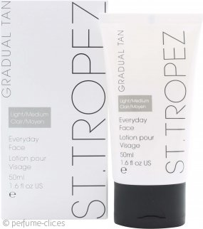 St Tropez Everyday Bronceador Facial Gradual - Claro a Medio 50ml