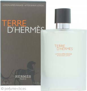 Hermes Terre D'Hermes Loción Aftershave 100ml Splash