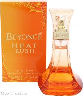 Beyonce Heat Rush Eau de Toilette 50ml Vaporizador