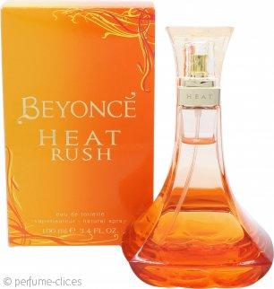Beyonce Heat Rush Eau de Toilette 100ml Vaporizador