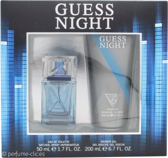 Guess Night Set de Regalo 50ml EDT Vaporizador + 200ml Gel de Ducha