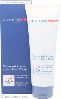 Clarins Men Active Face Wash - Gel Espuma 125ml