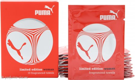 Puma Limited Edition Woman Toallitas Perfumadas 10 x 3ml