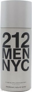 Carolina Herrera 212 Men Desodorante Vaporizador 150ml