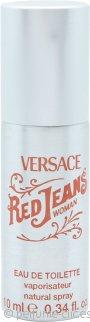 Versace Red Jeans Eau de Toilette 10ml Lata Vaporizador