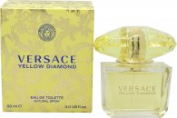 Versace Yellow Diamond Eau de Toilette 90ml Vaporizador