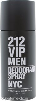Carolina Herrera 212 VIP Men Desodorante Vaporizador 150ml