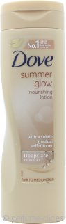 Dove Summer Glow Loción Nutritiva 250ml Piel Clara a Media