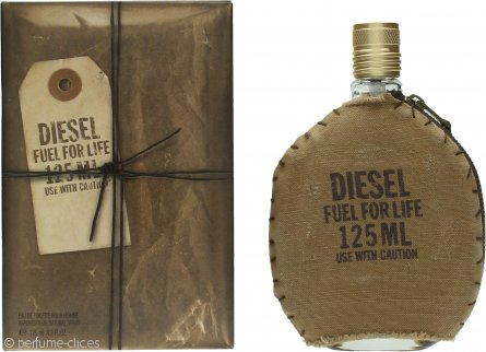 Diesel Fuel For Life Eau de Toilette 125ml Vaporizador