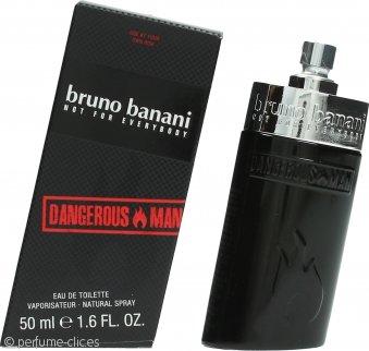 Bruno Banani Dangerous Man Eau De Toilette 50ml Vaporizador