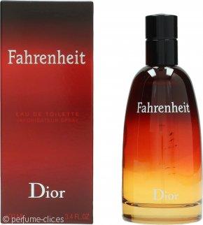 Christian Dior Fahrenheit Eau de Toilette 100ml Vaporizador