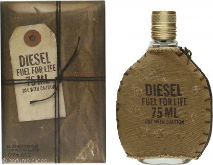 Diesel Fuel For Life Eau de Toilette 75ml Vaporizador