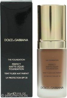 Dolce & Gabbana Perfect Matte Base Líquida 30ml - 180 Soft Sable